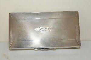 Aristocrat Harman Brothers Silver Plated EPNS Cigarette Cigar Box Case