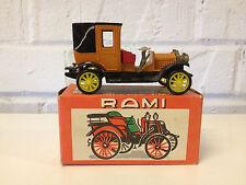Vtg Rami by JMK Model / Toy Diecast Car 1912 Landaulet Packard in Original Box