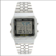 Casio Uhr Collection Weltzeit Digitaluhr A500WEA-1EF