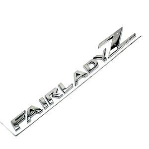 Chrome Fairlady Z Emblem Badge FairladyZ  for Nissan 09-17 370Z 350Z Z34