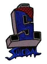 SUICIDAL TENDENCIES *Official* ST Logo (FLS) Embroidered Sew or Iron On Patch