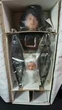 Sakla and Omuk Eskimo Porcelain Doll Danbury Mint Limited Edition Judy Belle