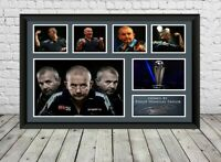 Phil Taylor Signed Photo Print Poster Autographed Darts Memorabilia