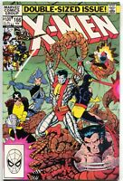 Uncanny X-Men 166 Marvel 1983 NM Wolverine Colossus Brood 1st Lockheed