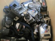 "Lot of 20 MIxed Brand Cameras *FOR PARTS* ""AS IS"" (i.e.SONY PANASONIC)"