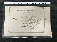 NEWCASTLE TRAMWAYS M587