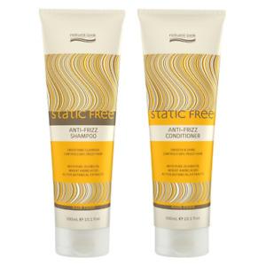Natural Look Static Free Anti Frizz Shampoo & Conditioner 300ml SLS Free Vegan