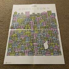 Owen Poster for Ghost Town Lp - Owls American Football