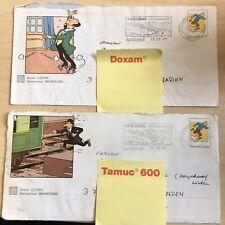 Tim und Struppi (Tin Tin) 2 x Ersttagsbrief Varianten FRANCE Frankreich 2005