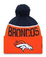 Denver Broncos Players Sideline Sports Knit Beanie Cap Hat NFL New Era