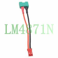 MPX Multiplex male To JST plug male Adapter 10CM 22awg Wire for RC lipo battery