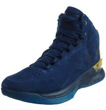 Under Armour Ua Curry 1 Lux Mid Suede Marine/Metallise 1296617-997
