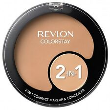 REVLON COLORSTAY 2 IN 1 COMPACT MAKEUP FOUNDATION & CONCEALER NEW *CHOOSE SHADE*