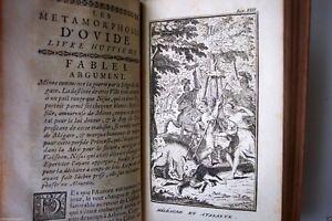 Rare METAMORPHOSES D'OVIDE, BANIER FRENCH VOL.I & II, 1742,  6 Engravings