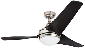 "Honeywell Ceiling Fans 50195 Rio 54"" Ceiling Fan With Integrated Light Kit And R"
