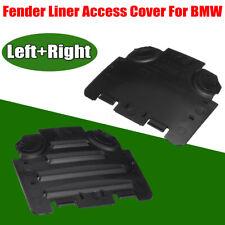 Left + Right Wheel Arch Headlight Access Cover for BMW E82 E88 E90 E91 135i 325i