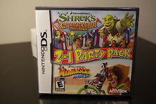 DreamWorks 2-in-1 Party Pack (Nintendo DS, 2010) New / Factory Sealed