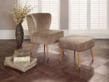 Velvet Living Room Vintage/Retro Armchairs
