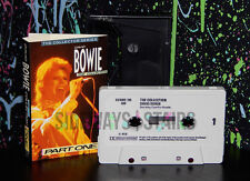 very rare 1985 DAVID BOWIE THE COLLECTION PART ONE CASSETTE tape castle comm. UK