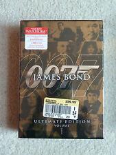 James Bond Ultimate Edition - Vol. 1 (DVD, 2009, 10-Disc Set) BRAND NEW - SEALED