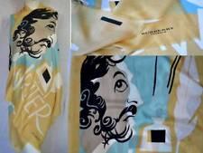 BURBERRY LUXUS SCHAL TUCH SCARF Carré платок 100% KASCHMIR 175x70 UVP 429 € GELB