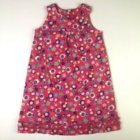 Hanna Andersson Girls Pink Purple Floral Summer Dress 120 6X 7
