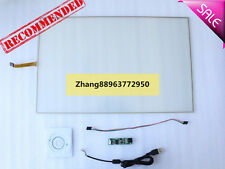 "22""  5 Wire Resistive Touch Screen Panel Kit With USB for 22"" 16:9 LCD Screen zh"