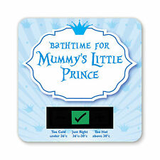 BABY BATH THERMOMETER - MUMMYS LITTLE PRINCE DESIGN
