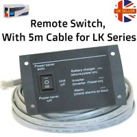 Remote Switch With 5m Cable for LK Series Powerstar inveter/charger