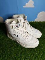 Fila FX-100 Mid White Trainers Size 5