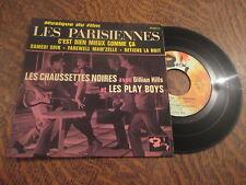 RARE 45 tours LES CHAUSSETTES NOIRES AVEC GILLIAN HILLS ET LES PLAY BOYS