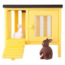 NEW Lundby Smaland Doll's House Rabbits & Hutch Set