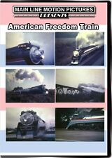 American Freedom Train DVD NEW Main Line Southern Pacific 4449 SP East Coast