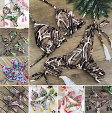 2020 Feminino Floral Sutiã Com Bojo Conjunto de biquíni Praia Maiô Roupa de banho Brasileiro