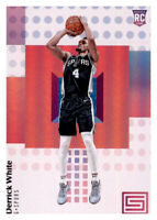 2017-18 Status Derrick White Spurs #127 NBA Rookie RC PWE