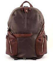 Piquadro Coleos Expandable Laptop Backpack Tasche Rucksack braun