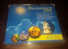 Encyclopedia Britannica 2002 Deluxe Edition CD Windows Version [3-Disc Set] NEW