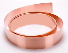 "Copper Sheet .0216"" Thick - 16oz - 24 Ga - 3""x48"" - FREE 48 STATE SHIPPING"
