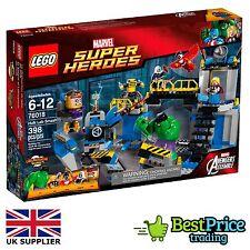 LEGO MARVEL SUPER HEROES 76018 Hulk Lab Smash * BRAND NEW & SIGILLATO * AVENGERS