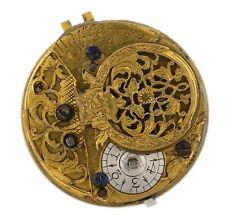 Walter Bruce inglese VERGE FUSEE LONDON Orologio da taschino movimento RICAMBI VV79