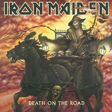 IRON MAIDEN - DEATH ON THE ROAD USED - VERY GOOD CD