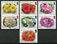 British Virgin Islands BVI Flowers 2020 MNH Hibiscus Frangipani Oleander 7v Set