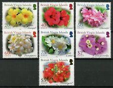 More details for  british virgin islands bvi flowers 2020 mnh hibiscus frangipani oleander 7v set