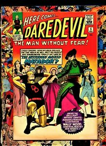 Daredevil #5 Yellow costume mARVEL comic 1st appearance  Matador! stunning 9.0