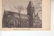 Memorial Hall Harvard University Cambridge MA