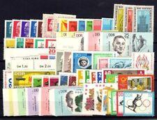 DDR Jahrgang 1963 , postfrisch , Auswahl aus Michel Nr. 934 - 1003