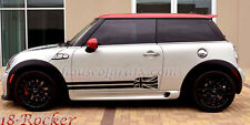 Mini Cooper Countryman Coupe Clubman Rocker Decals Graphics Stripes Stripe