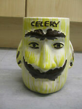 BARN POTTERY CELERY HOLDER - 1970'S? USED CONDITION