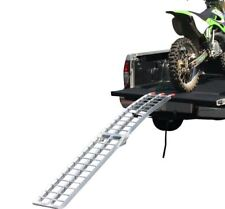 ALUMINIUM 2.3M FOLDABLE LOADING RAMP for Dirt Pit Trail Bike Scooter Motorcycle