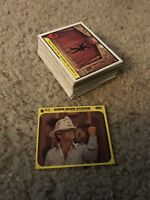 1977 Fleer Gong Show Complete (66) Card Set + 1 Sticker. EX!! SEE PICS!!